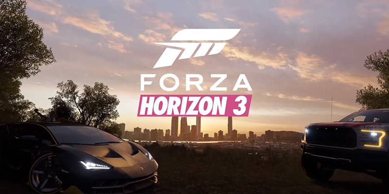 forza horizon 3 launches for windows 10 and xbox one. Black Bedroom Furniture Sets. Home Design Ideas
